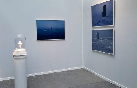 Ice Clock / United Land - Art Paris Art Fair - Galerie Olivier Waltman - 2017