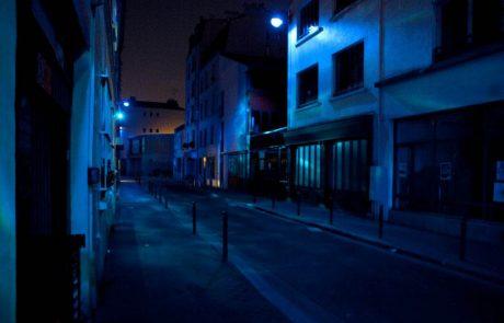 Paris Underwater - Installation lumineuse in situ - Nuit Blanche 2015